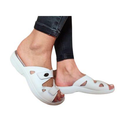Komfort papucs fehér
