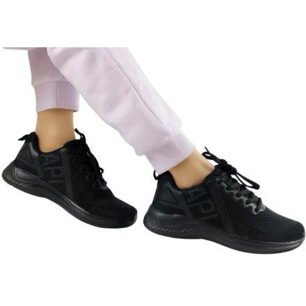 APL fekete sportcipő